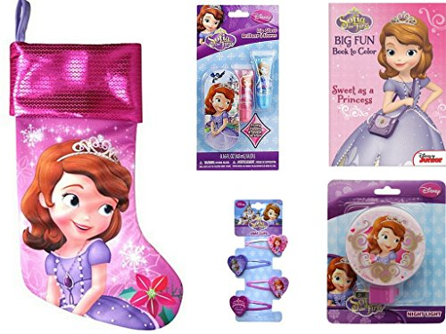 """Disney Sofia the First 18"""" Christmas Stocking with Colori..."""