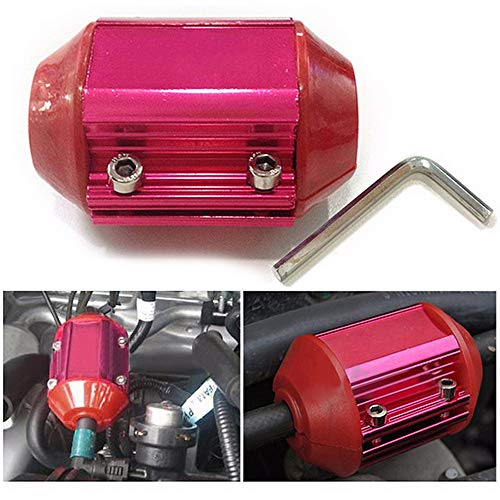 t Magnetic Gas Fuel Saver Performance Cars Trucks - Red ()