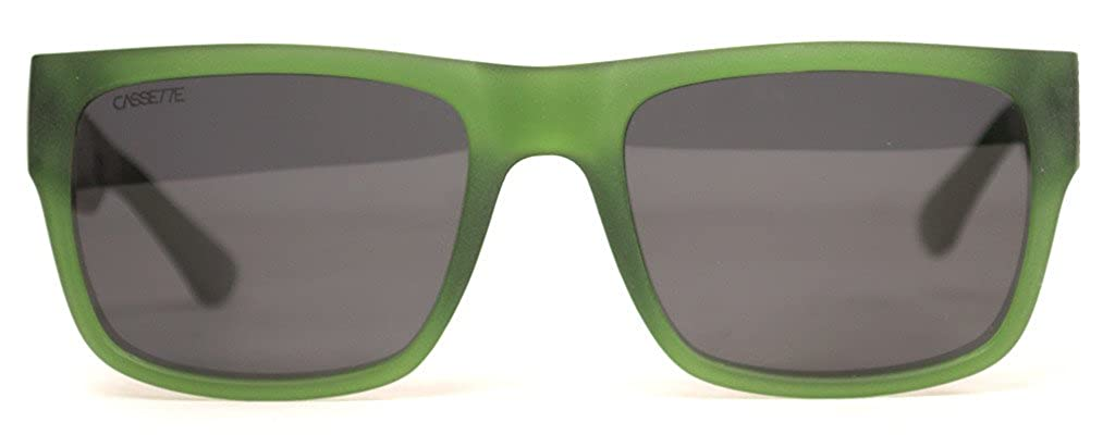 Smoke Polarized Lens Stockholm Matte Transparent Olive Green