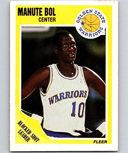 1989-90 Fleer #52 Manute Bol Warriors NBA Basketball Card NM-MT