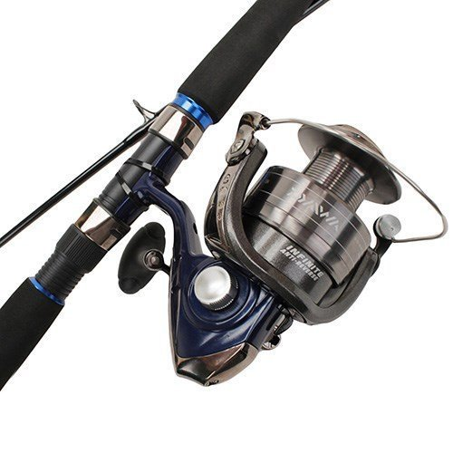 - Daiwa D-Wave Saltwater Spin Combo, Black by Sportsman Supply Inc.