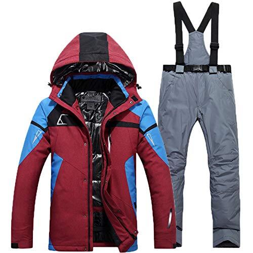 Suit Plein Ensemble À L'eau Color13 Ski Zxgjhxf De Imperméable Hommes Épaissir Coupe Pantalon Chaud Veste Air En Snowboard Costume Porter Sport vent Super 7Uqpw1