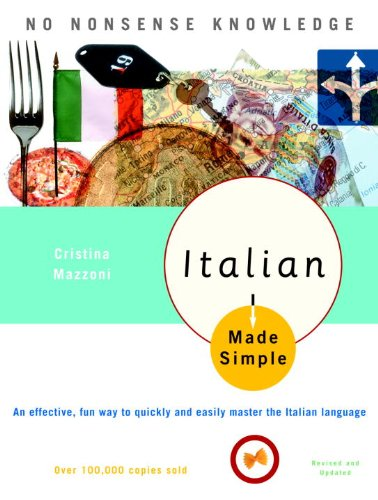 Italian Made Simple: Revised and Updated cover