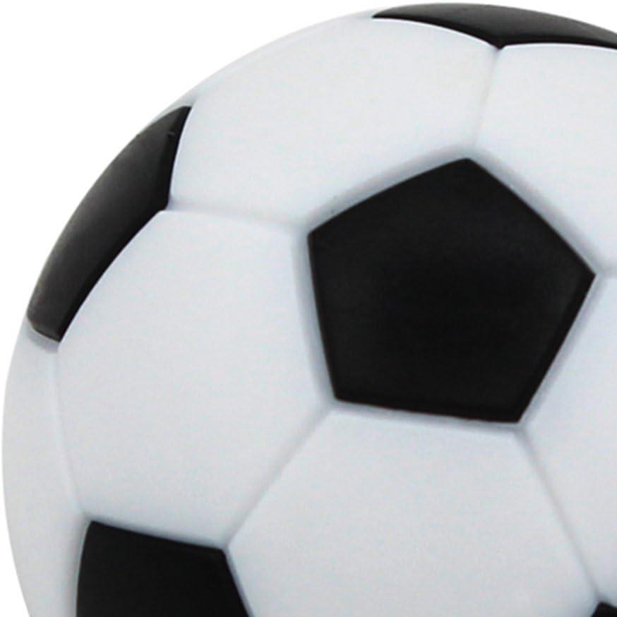 Toyvian 12pcs 36MM Fútbol de Mesa Reemplazos Mini Balones de ...