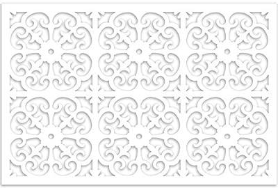 Acurio Lattice Roman Outdoor Decor Panel Screen
