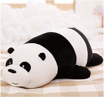 FMITT Dibujos Animados Nosotros Osos Oso mentiroso Relleno Grizzly Oso Blanco Panda Panda Peluches para niños Kawaii Muñeca para niños Regalo 50Cm: Amazon.es: Juguetes y juegos