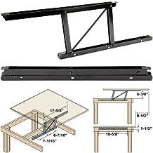 Woodtek 164228, Hardware, Table, Folding Table Hardware, Coffee Table Top Lift Mechanism-L+r