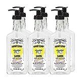 J.R. Watkins Liquid Hand Soap, Lemon, 11 ounce (Pack of 6)