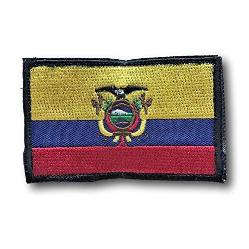 - Backwoods Barnaby Ecuador Flag Hook & Loop Patch