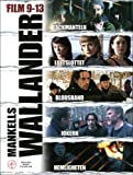 Wallander (Films 9-13) - 5-DVD Box Set ( Täckmanteln / Luftslottet / Blodsband / Jokern / Hemligheten ) ( The Container Lorry / The Castle Ruins / Bound [ NON-USA FORMAT, PAL, Reg.2 Import - Sweden ]