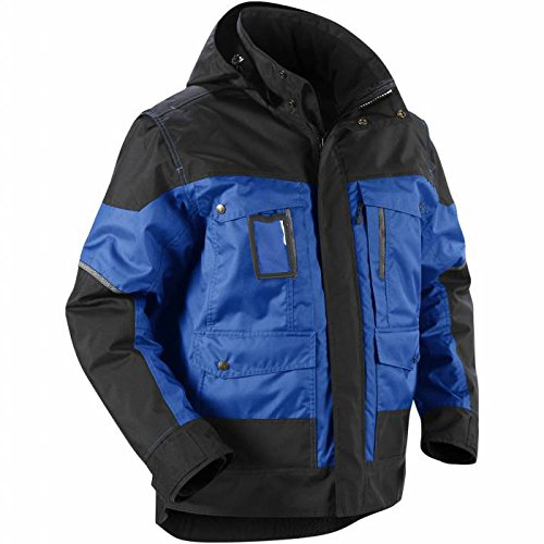 Blåkläder Workwear Winterjacke mit Kapuze 4886, marine / schwarz, 3XL, 1 Stück, 67-48861977-8999-3XL