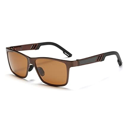 Gafas De Sol Los Hombres Square Gafas De Sol Polarizadas ...