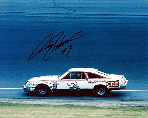 AUTOGRAPHED 1980s Richard Childress #3 CRC Racing VINTAGE (Car Owner Driver) Signed 8X10 NASCAR Glossy Photo with (Owner Drivers)