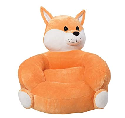 Childrenu0027s Plush Fox Character Chair Toddler Toy Seat Gift S Furniture  Bedroom Chairs Baby Room Decor