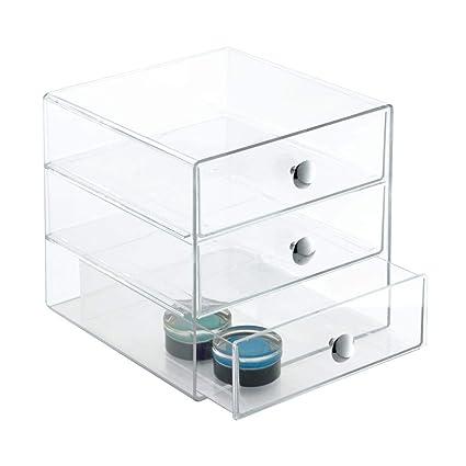 Wood Construction 42 Cassette Tape 3 Drawer Storage Case Box Holder #3 Storage & Media Accessories