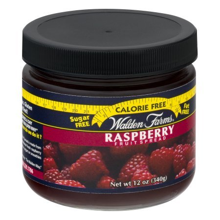Raspberry Fruit Spread Jar 12 Ounce Free Calories by Walden Farms by Walden Farms (Image #1)'