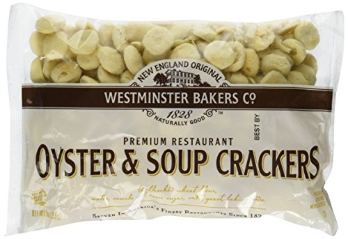 New England Original Westminster Bakeries Oyster and Soup Crackers 9 Ounce