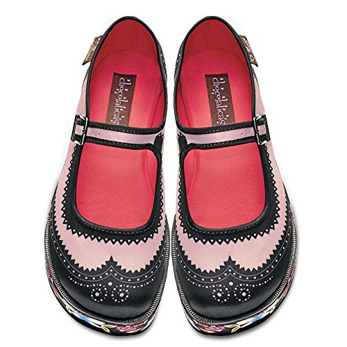 Hot Chocolate Design Chocolaticas Habana Flower Women's Mary Jane Platform Multicoloured free shipping 2014 new discount with paypal collections cheap price outlet find great T8YzP
