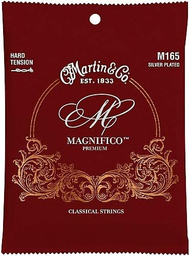 Martin Hard Tension Silver Plated Classical Guitar Strings M165