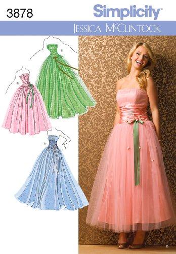 50s dress pattern size 20 - 5