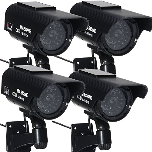 Masione Waterproof Simulated Security Blinking product image
