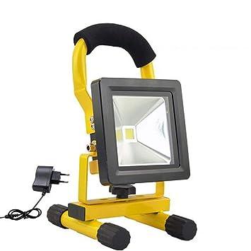 Dedeka 10W Proyector LED Foco LED Exterior Proyector Recargable ...