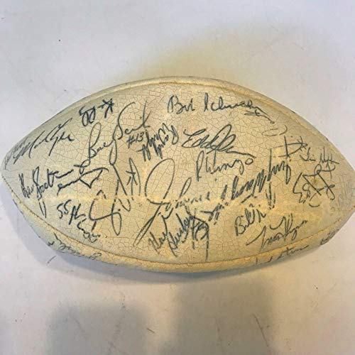 1984 Green Bay Packers Team Signed Wilson NFL Football 56 Sigs With COA - PSA/DNA Certified - Autographed -