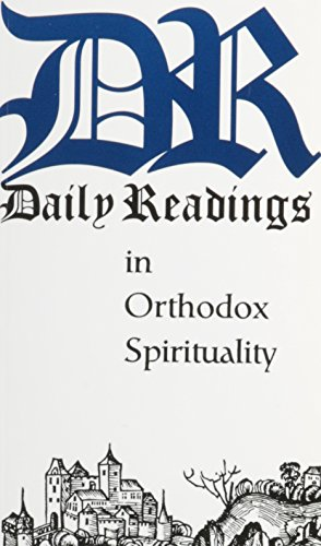 Daily Readings in Orthodox Spirituality