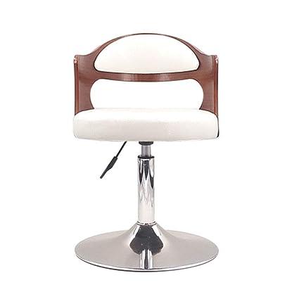Magnificent Amazon Com Metallic Wooden Retro Bar Chair Adjustable Machost Co Dining Chair Design Ideas Machostcouk