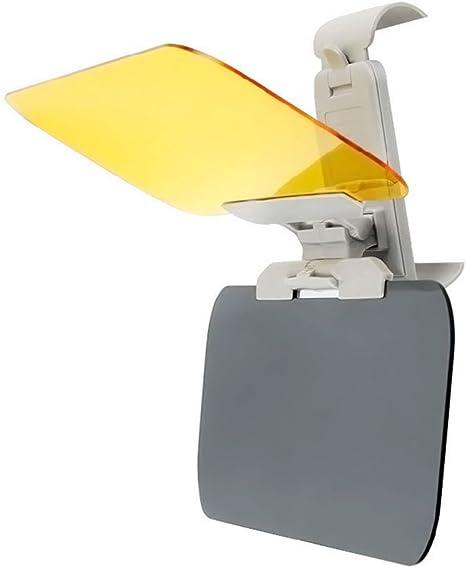 Extension Pour Pare Soleil Voiture 2 Pi/èces,Monojoy Extension pour Pare Soleil Voiture Anti Reflets Conduite HD Visi/ère Antireflet Protection Oculaire Vision