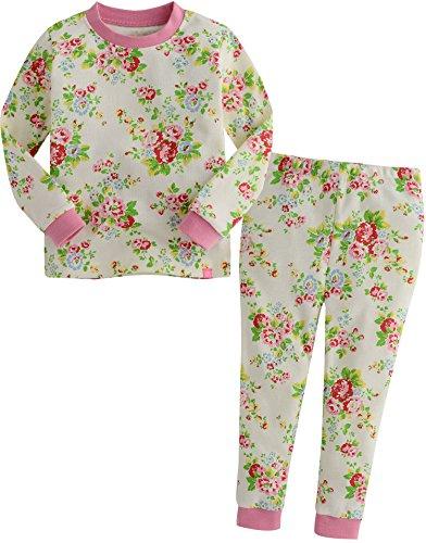 Vaenait baby Kids Girls Sleepwear Pajama Top Bottom 2 Pieces Set Iris ()