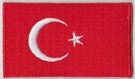 Morocco Country Flag Embroidered Patch T4