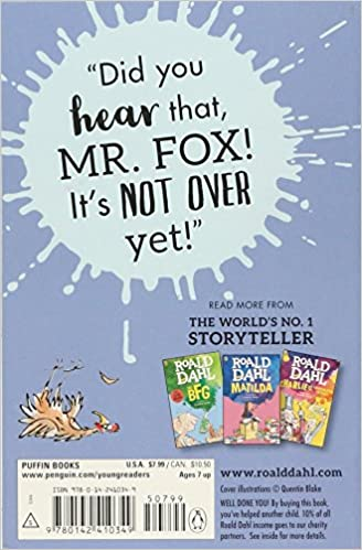Fantastic Mr. Fox: Roald Dahl, Quentin Blake: 9780142410349 ...