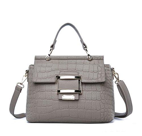 Mujer Shoppers y bolsos de hombro Bolsos bandolera Carteras de mano y clutches Gris