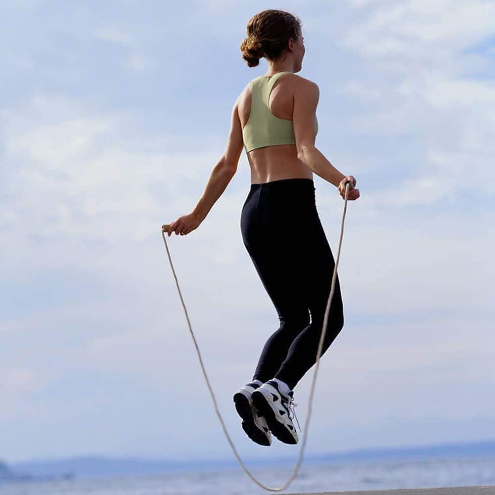 Comba Crossfit Hombre Mujer Ajustable Skevic Cuerda para Saltar Cuerda Saltar Ni/ños y Adultos Comba para Saltar Cuerda Saltar Crossfit Deportes Fitness Resistencia Velocidad Comba Boxeo