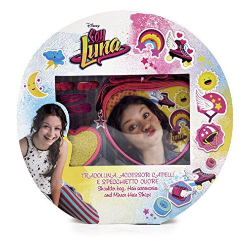 Soy Luna D94805 MC - Set Regalo Trasversale, Specchio, Accessori Capelli Soy Luna, Multicolore