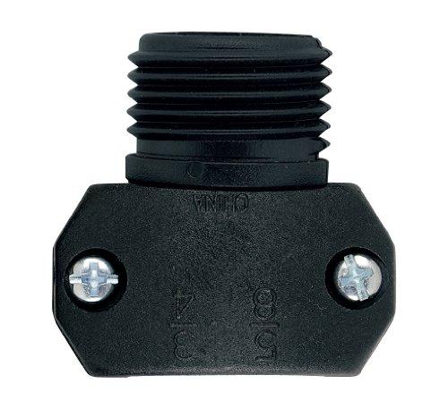 5 Pack - Orbit Hose Repair Mender 5/8 Inch or 3/4 Inch Male - Repair Hose Plastic