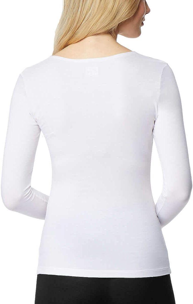 32 DEGREES Ladies Heat Long Sleeve Scoop Neck Tee 2-Pack