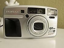 Pentax IQ Zoom 145 M Super Quartz Date 35mm Camera (wood grip)