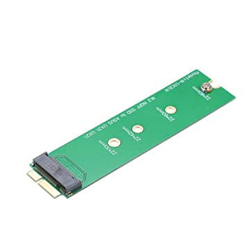 Docooler M.2 NGFF a ASUS UX21 / UX31 Tarjeta adaptadora SSD ...