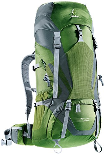Deuter Act Lite 65+10 Hiking Backpack – Discontinued, Pine/Granite