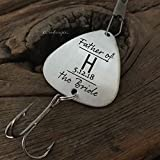 Father of the Bride Gift Fishing Lure Father Gift Wedding Gift for Dad on Wedding Day Gift Father of Bride Gift Brides Dad Gift