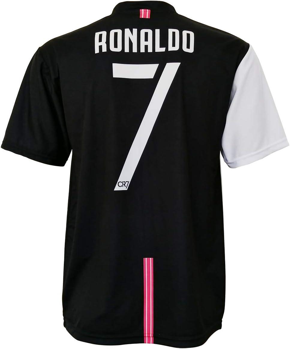 CR7 MUSEU Camiseta Cristiano Ronaldo 7 Oficial Autorizada 2019-2020 Niño (Tallas-Años 2 4 6 8 10 12) Adulto (S M L XL) con Firma Impresa - Leer Notas (L Adulto): Amazon.es: Deportes y aire libre