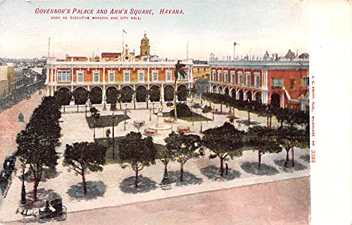 Governor's Palace and Arm's Square Havana Cuba, Republica de Cuba - Square Governors