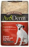 AvoDerm Natural Oven-Baked Original Formula with Beef Meal Dog Food, 24-Pound, My Pet Supplies