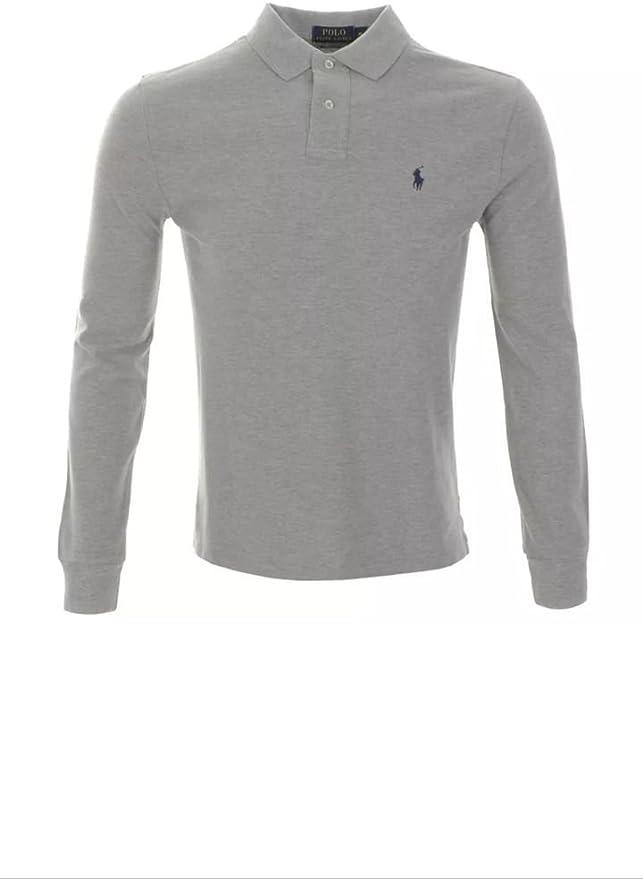Ralph Lauren Polo - Camiseta de manga larga, azul marino, negro y ...
