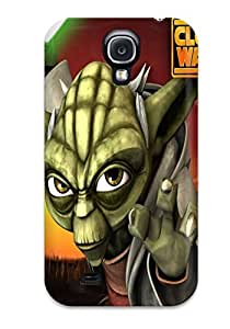 DanRobertse Case Cover Protector Specially Made For Galaxy S4 Star Wars Clone Wars