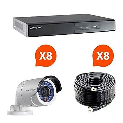 SecuriteGOODdeal-Equipo de videovigilancia compuesto por 8 cámaras HD Hikvision Turbo