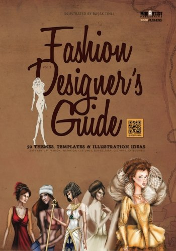 Costume Designer Template (Fashion Designer's Guide : 50 Themes, Templates & Illustration Ideas: 20th century fashion, historical costumes, sub-cultural clothing, categories (BookPushers))