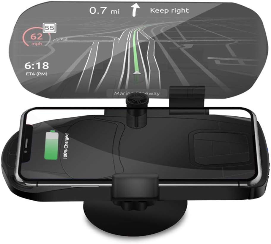 Hud Head Up Display Universal Handyhalter Für Auto Dash Mount Fahrzeug Hud Smartphone Halter Für Iphone Android Handys Beleuchtung